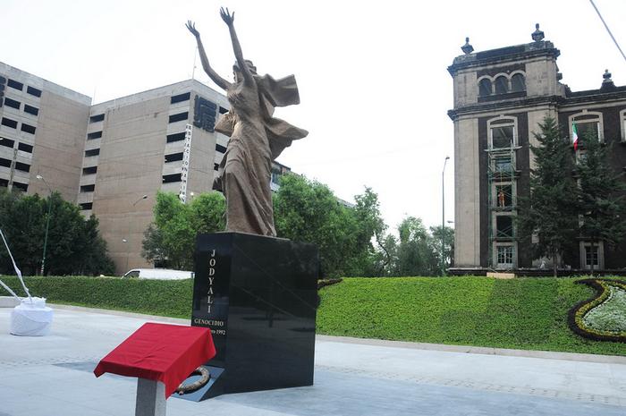 Мемориал памяти жертв Ходжалинской резни в Мехико